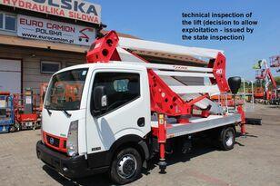 NISSAN Cabstar NT400  20 m Socage 20D bucket truck