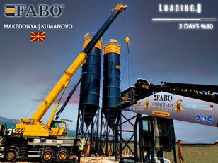 new FABO FABOMIX COMPACT-110 CONCRETE PLANT   CONVEYOR TYPE concrete plant