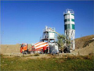 new SEMIX Compact 60 concrete plant