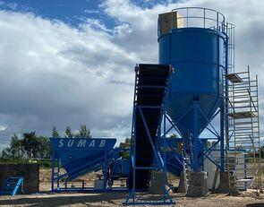 new SUMAB OFFER! K-60 (Pan mixer: 1800/1200 litres) Mobile concrete plant concrete plant