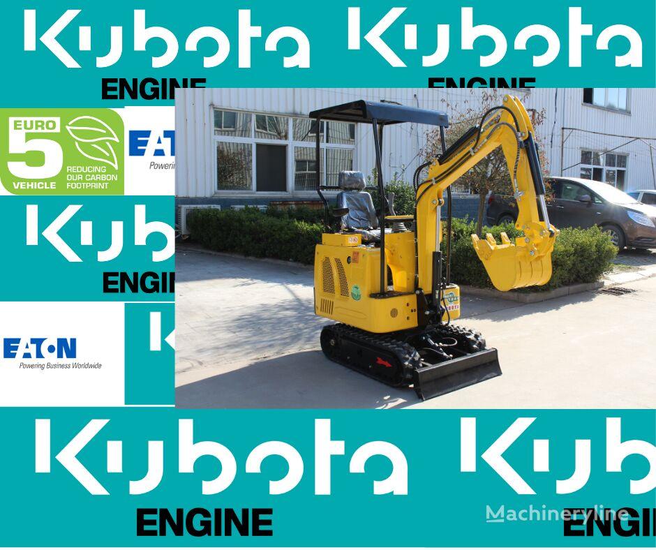 new Günter Grossmann KUBOTA  GG1000 mini excavator