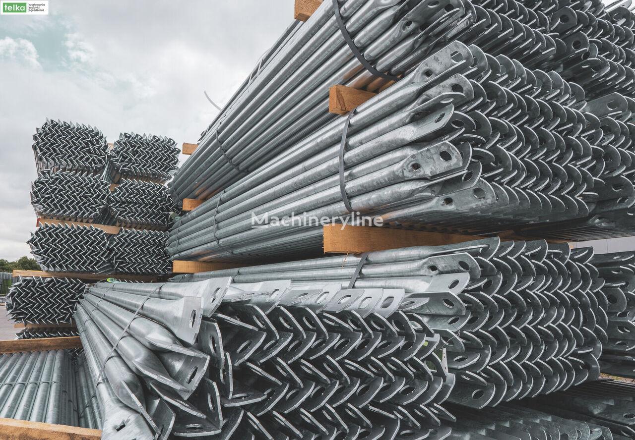new Telka SCAFFOLDING ÉCHAFAUDAGE  plettac 2200m2 LESENIE / SKALOSIES scaffolding