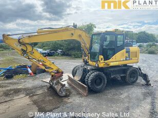KOMATSU PW140-7 wheel excavator