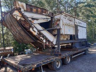 EUREC Z85 shredder rozdrabniacz do metalu odpadów drewna korzeni metal baler